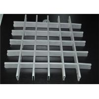 Perforated Aluminum Grid Open Cell Ceiling Tiles With Fireproof Metal Material Manufactures