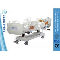 China Cold Roll Steel Electric Medical Equipment Hospital Beds With Vertical Column System on sale