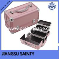 China Pink professional makeup storage case wholesale on sale