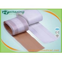 China Free cutting Medical Fabric Adhesive wound dressing strips first aid plaster strip on sale