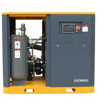 Hot sale energy saving 37kw 5.7m3/min PM motor screw type air compressor with inverter Manufactures