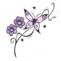 Most popular Non - toxic ink Flower colorful foot tattoo designs for women Body skin Manufactures