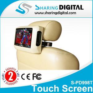 9 HD 800 x 480 Pixes Touch Screen Portable DVD Car Headrest DVD Players    Manufactures