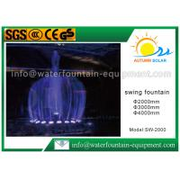 Buy cheap Round Shape Electric Water Fountain , Garden Water Fountains Diameter 4000 MM from wholesalers