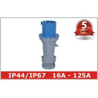 Safety IEC Receptacle Industrial Plugs / 32 Amp Industrial Socket Manufactures
