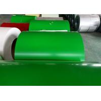 Green Prepainted Galvanized Steel Coil For Metal Building Purlins Manufactures