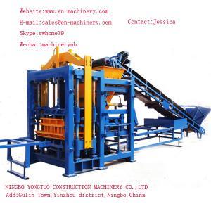 German Concrete Block Making Machine 10-15 Turkish Block Making Machines with self-loading Manufactures
