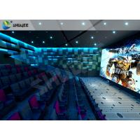 Breathtaking Amusement 4D  Cinema Seats With Cost-effective Motion Seats Manufactures
