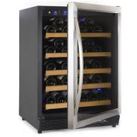 54 Bottles Compressor Wine Cooler (Fridges), Single Temp. Zone, Stainless Steel Door Trim Manufactures
