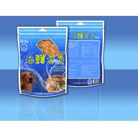 PET / CPP Side - Seal Stand Up Zipper Sea Food Snack Bag Packaging Manufactures