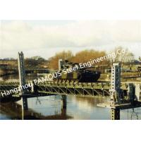 Modern Designed Military Style Temporary Military Steel Structure Bailey Bridge For Army Usage Manufactures