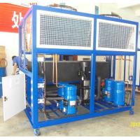 China Stainless Steel Industrial Air Chillers With 10HP To 100 HP on sale
