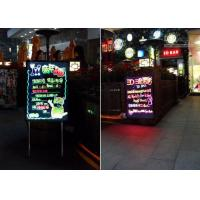 7 Color LED Writing Boards RGB Change Magic Sparkle For Outdoor / Indoor Manufactures