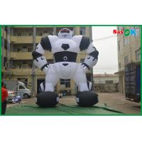 China Oxford Cloth Custom Inflatable Products Inflatable Robot For Outside Advertising on sale