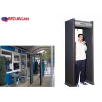High Sensitivity Walk Through Metal Detector Suppliers with 2 LED Light Manufactures