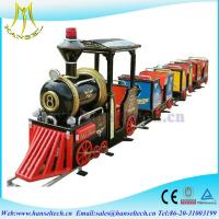 Hansel 2017 hot selling kids amusement park rides indoor and outdoor train rides Manufactures