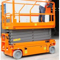 China Norrow 8m Pallet Scissor Lift Platforms Hydraulic Driven 230kg Loading Capacity on sale
