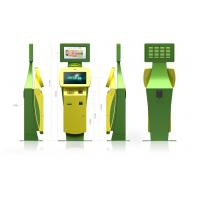 22 Inch LCD Monitor Innovative and Smart Bill Payment Kiosk for Ticketing / Card Printing Manufactures