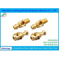 Non-standard Precision CNC Brass Parts 7602000010 HS Code RoHS Certification Manufactures