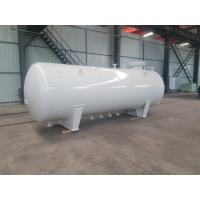 Horizontal LPG Stationary Fuel Storage Tanks ASME 10000 Liters Q345R 10m3 5mt Manufactures