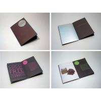 China new folded paper brochure for short run booklet printing on sale