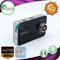 K6000 Full Hd Night Vision Dash Cam With 2.4 Inch Lcd Screen / TF 32GB Memory Card Manufactures