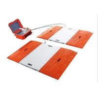 Cabled Type Truck Axle Scales , Vehicle Weight Scales Alloy Aluminum Material Manufactures