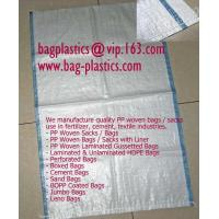 LAMINATED woven FIBC bags, big bags, ground cover, tarpaulin, PE tarpaulin, weed mat, Flex Manufactures