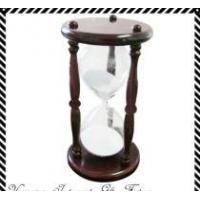 China 30 minutes Wood  Frame, Glass Hour ,Sand Timer wholesale