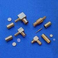 MCX and MMCX RF Connectors with 50-Ohm Impedance and 6GHz Frequency Manufactures