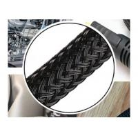 Flexible Expandable Electrical Braided Sleeving Wear Resistant For Cable Management Manufactures