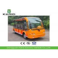 Battery Powered Electric Sightseeing Car with 14 Seats Excellent Cruising Ability Manufactures