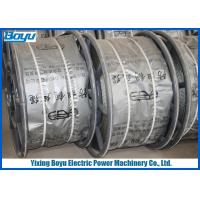 9mm 55kN Anti Twisted Pilot Wire Rope / Braided Steel Wire Rope For Line Stringing Manufactures