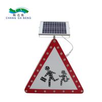 Solar road safety led warning chevron sign traffic road warning sign arrow sign Manufactures
