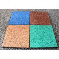 EPDM Rubber Basketball Court Flooring Odorless Slip Resistant Various Colors Available Manufactures