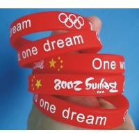 Newest Cheap custom silicon bracelet with printed logo 100% silicone Sports Silicone Bracelets Manufactures