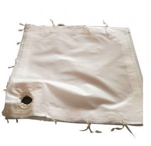 Fiberglass Woven Fabric Industrial Filter Cloth For Wast Incinerators