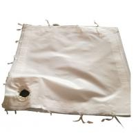 Quality Fiberglass Woven Fabric Industrial Filter Cloth For Wast Incinerators for sale