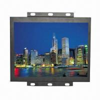 15-inch Open-frame Monitor, Metal Frame, S-video, Video, VGA, Touch, VESA 100mm Installation Holes Manufactures