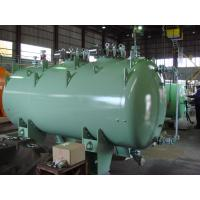 15000L F type Glass Lined Chemical Storage Tank , Steel Pressure Vessel Tank Manufactures