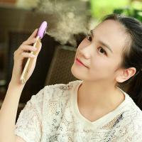Mini Mobile Phone Mist Moisturizing Beauty Instrument Portable Water Replenishment Mini Humidifier Facial Water Spray Manufactures