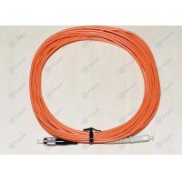 China Multimode FC To SC  Patch Cord , Fiber Jumper Cables Excellent Polished on sale