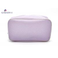 Elegant Design Women Makeup Bag Promotional Soft PVC Bags Size 20cmX6cmX10cm Manufactures