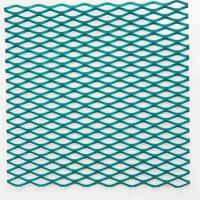 Powder Coated Aluminum Wire Mesh , Anti Acid Expanded Metal Aluminium Mesh Manufactures