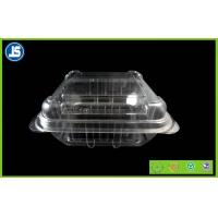 Eco Friendly Plastic Food Packaging Trays Clam Shell For Fruit Salad Manufactures