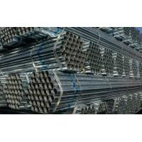 China ASTM A53, BS1387, DIN2244 ERW Black / Galvanized / oil coated GB Welded Steel Pipes / Tube on sale