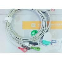 Gray Color GE One Piece Ecg Patient Cable For Patient Monitoring Devices Manufactures