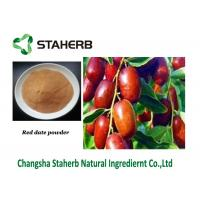Quality Dehydrated Jujube Date Powder Jujuboside Active Ingredient Rich Dietary Fiber for sale