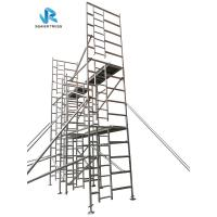 China Multipurpose Rising Aluminium Mobile Scaffold Tower Frame 2m - 20m Height on sale