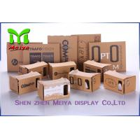 OEM Virtual Reality Cardboard Box Version VR BOX 2 . 0 Virtual Reality 3D Glasses Manufactures